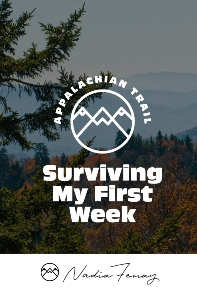 Surviving my first week on the Appalachian trail